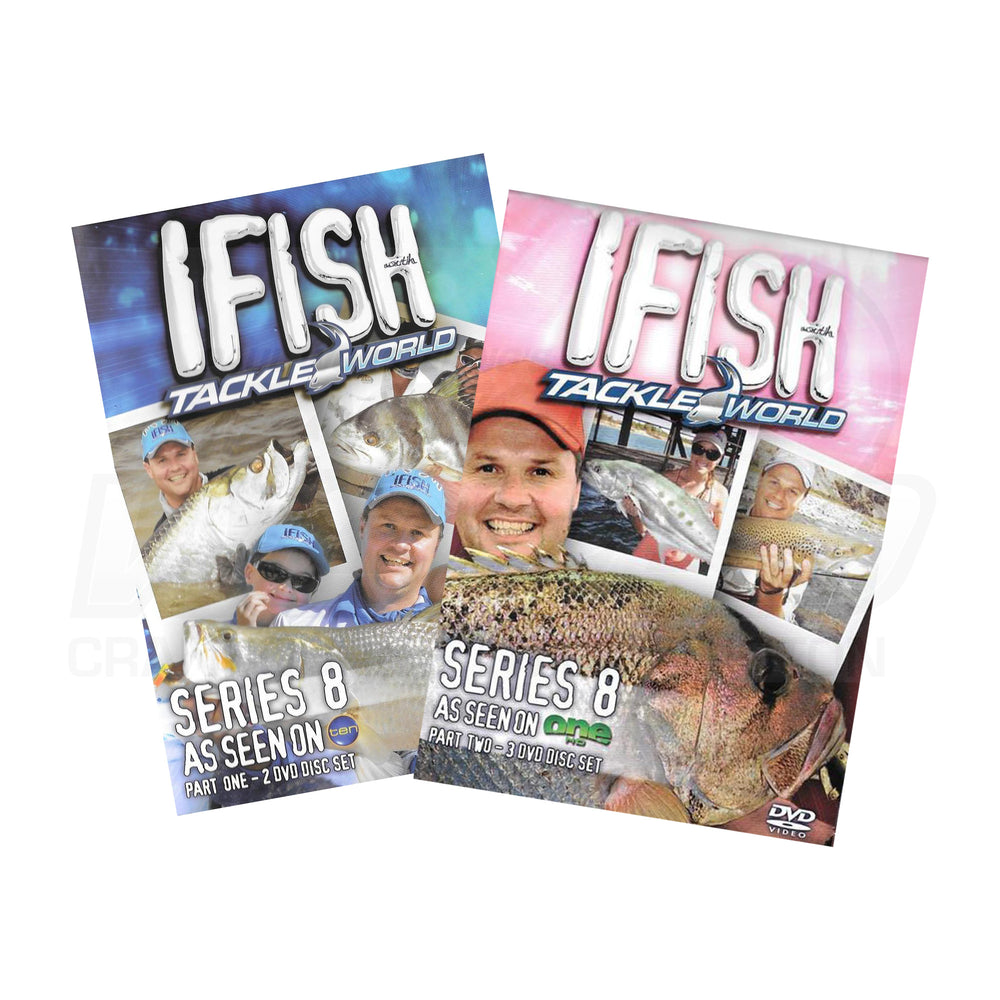 IFISH Series 8 - Part 1&2 DVDs