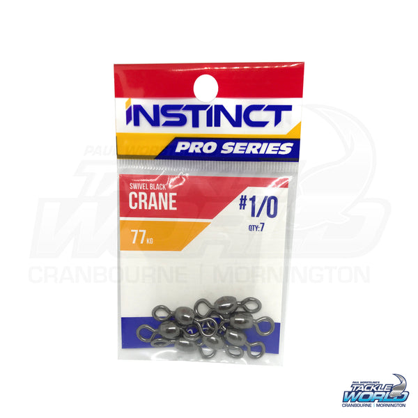 Instinct Pro Series Black Crane Swivels