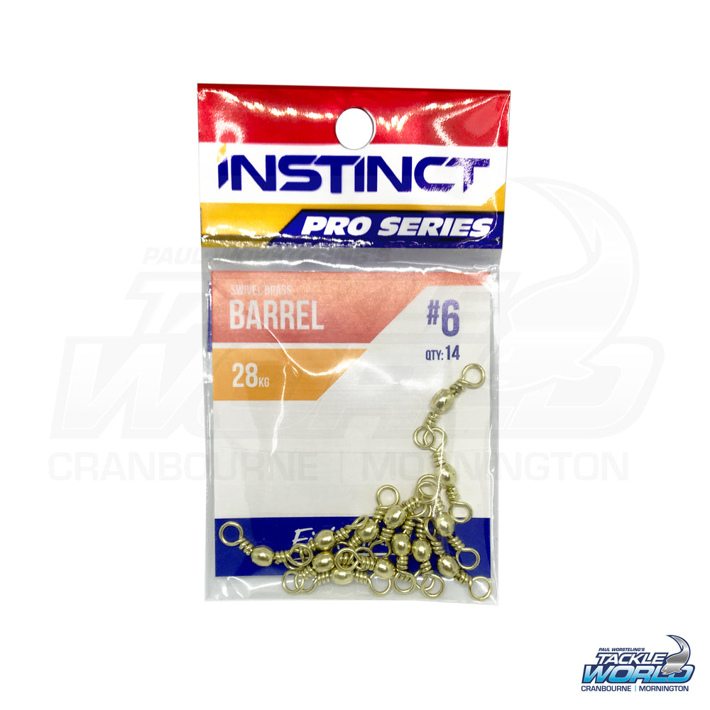 Instinct Pro Series Brass Barrel Swivels