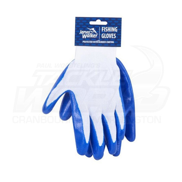 Jarvis Walker Polyester with Rubber Fishing Gloves
