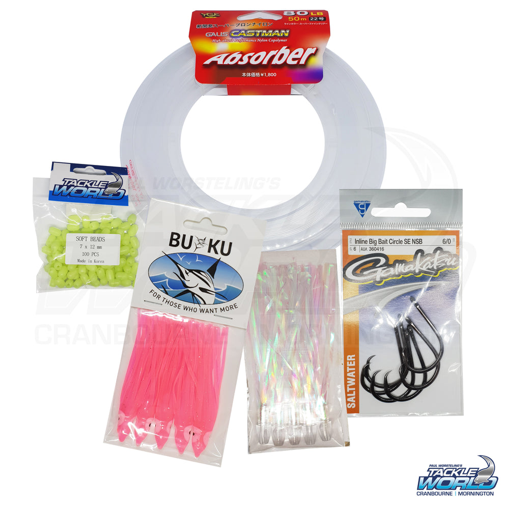 Kingfish Occy Skirt Rigging Kit