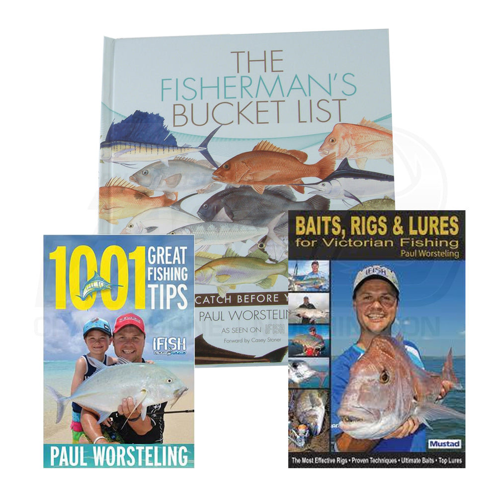 Paul Worsteling's 3 Book Gift Pack