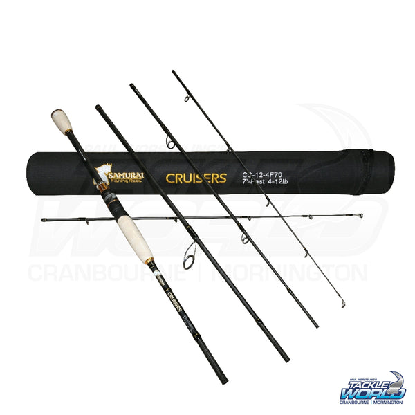 Samurai Cruiser Travel Rods
