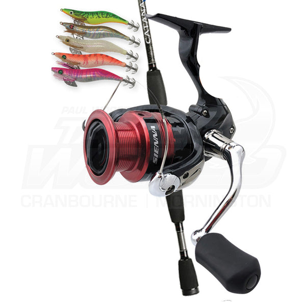 Shimano Catana Sienna Squid Ready Package