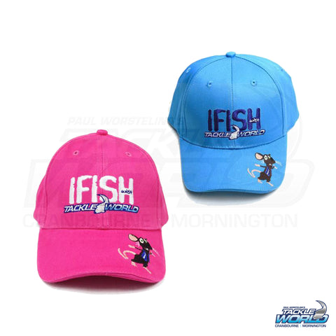IFISH with Tackle World Tackle Rat Kids Cap