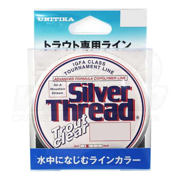 Unitika Silver Thread Trout Clear