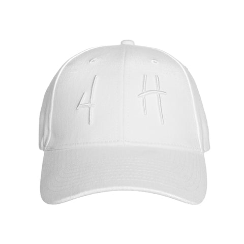 4H' HIT UP HAT (WHITE)
