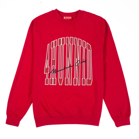 MEMBERS ONLY CREWNECK (RED)