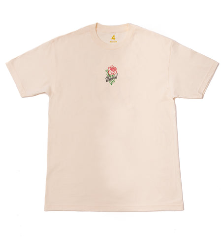 4HUNNID ROSE TEE (CREAM)