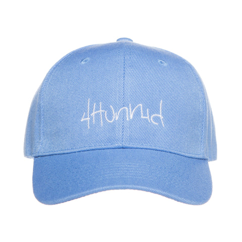 4HUNNID HIT UP VELCRO (SKY BLUE)