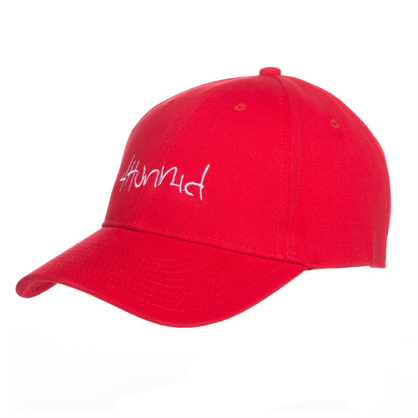 4HUNNID HIT UP VELCRO (RED)