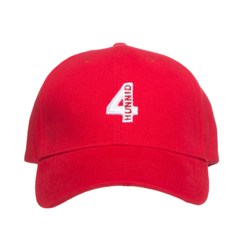 4 LOGO VELCRO (RED)
