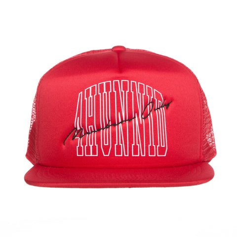 MEMBERS ONLY TRUCKER HAT (RED)