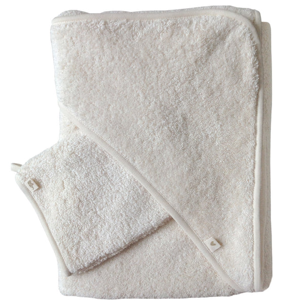 Hooded Towel *Vanille* - petit stellou  - 1
