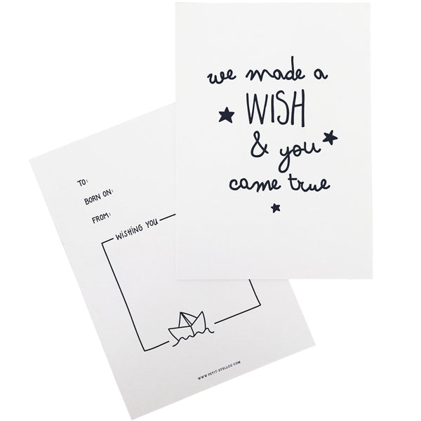 "Gift Card ""WISH"" - petit stellou  - 1"