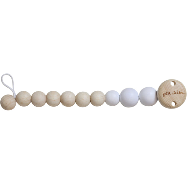 petit stellou pacifier holder milk