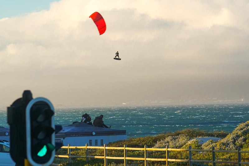 Kiting the Strongest Winds of the Season in Cape Town