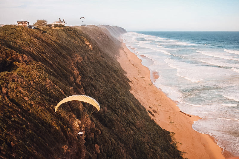 Dirty Boys Get Airborne - Paragliding