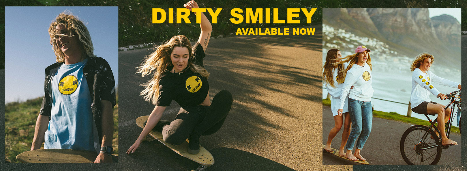 Dirty Habits Smiley clothing