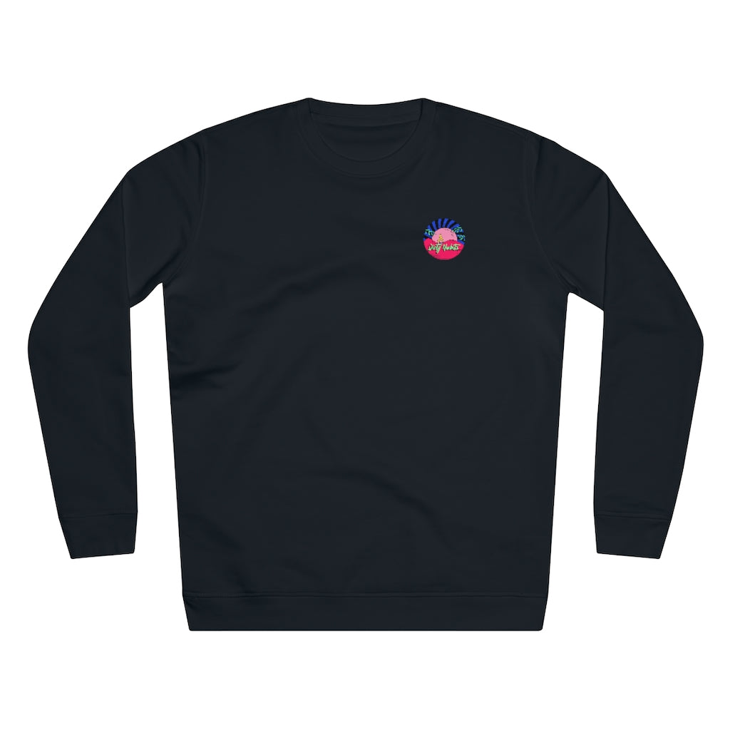 Finger Crew Neck Sweater