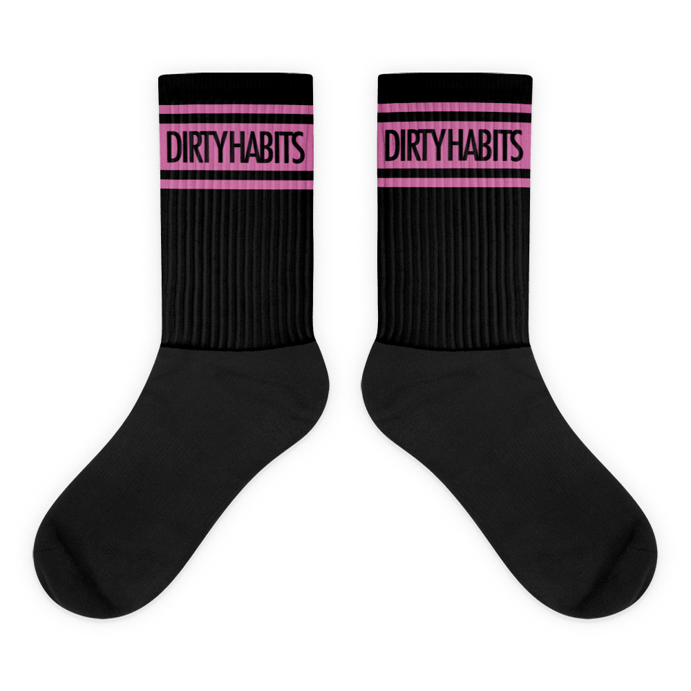 Dirty Pink Socks
