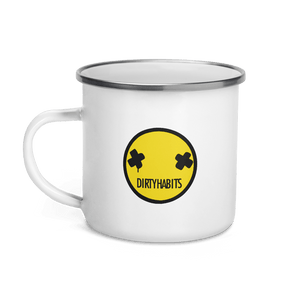 Dirty Habits Enamel Mug