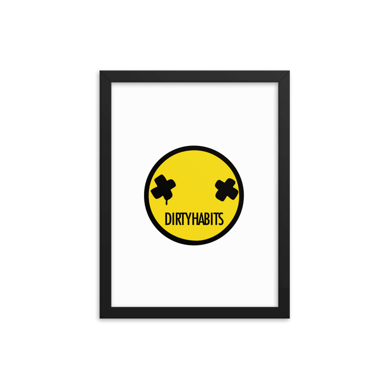 DH Smiley - Framed poster