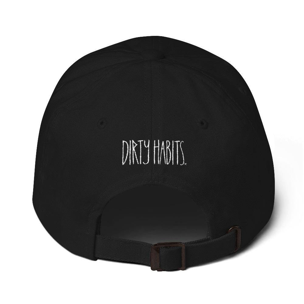 Dead Paradise Dad Hat Black