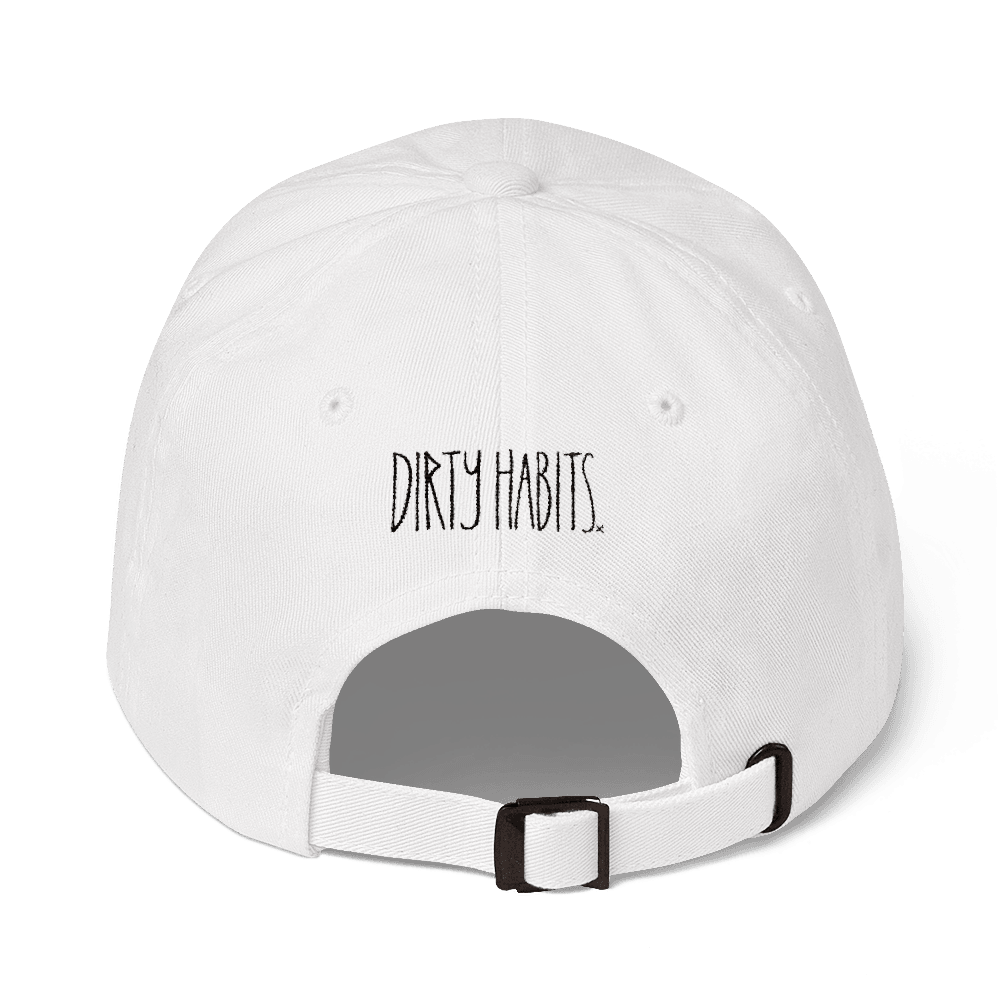 Dirty Dad Hat White
