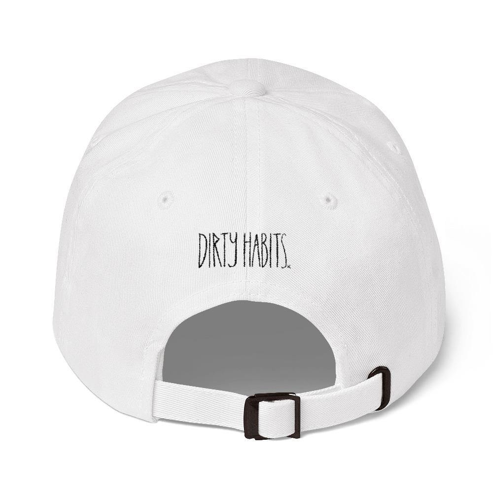 Dead Paradise Dad Hat White