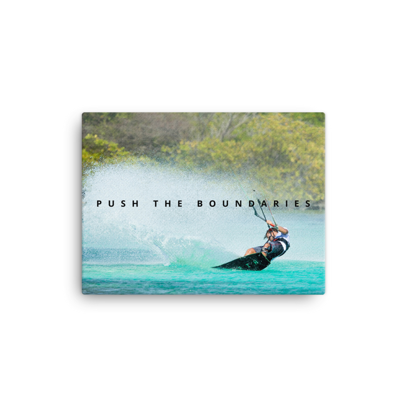 Push the Boundaries - Kiting Canvas Art