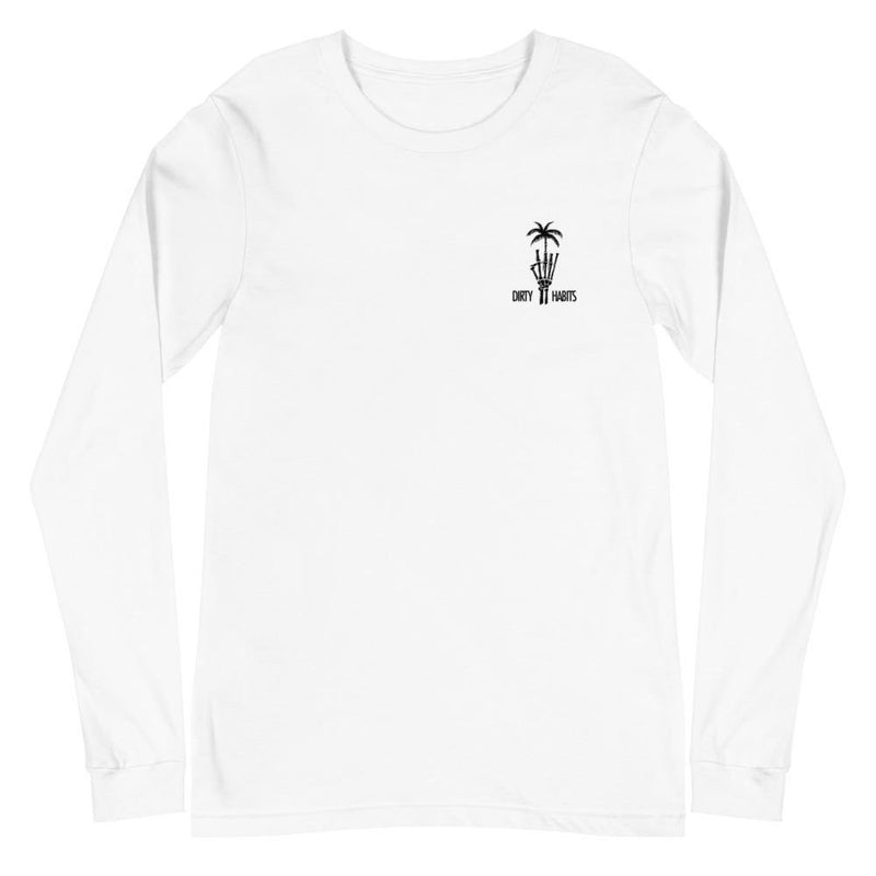 Dead Paradise Long Sleeve T-Shirt White