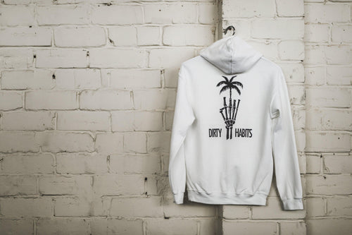 Dead Paradise White Hoodie