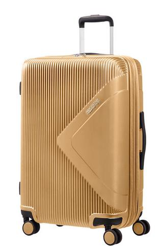 American Tourister Modern Dream Mellomstor Utvidbar Koffert Gull-Bagbrokers