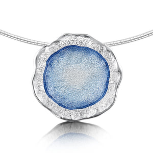 Lunar - Silver and Enamel Necklet