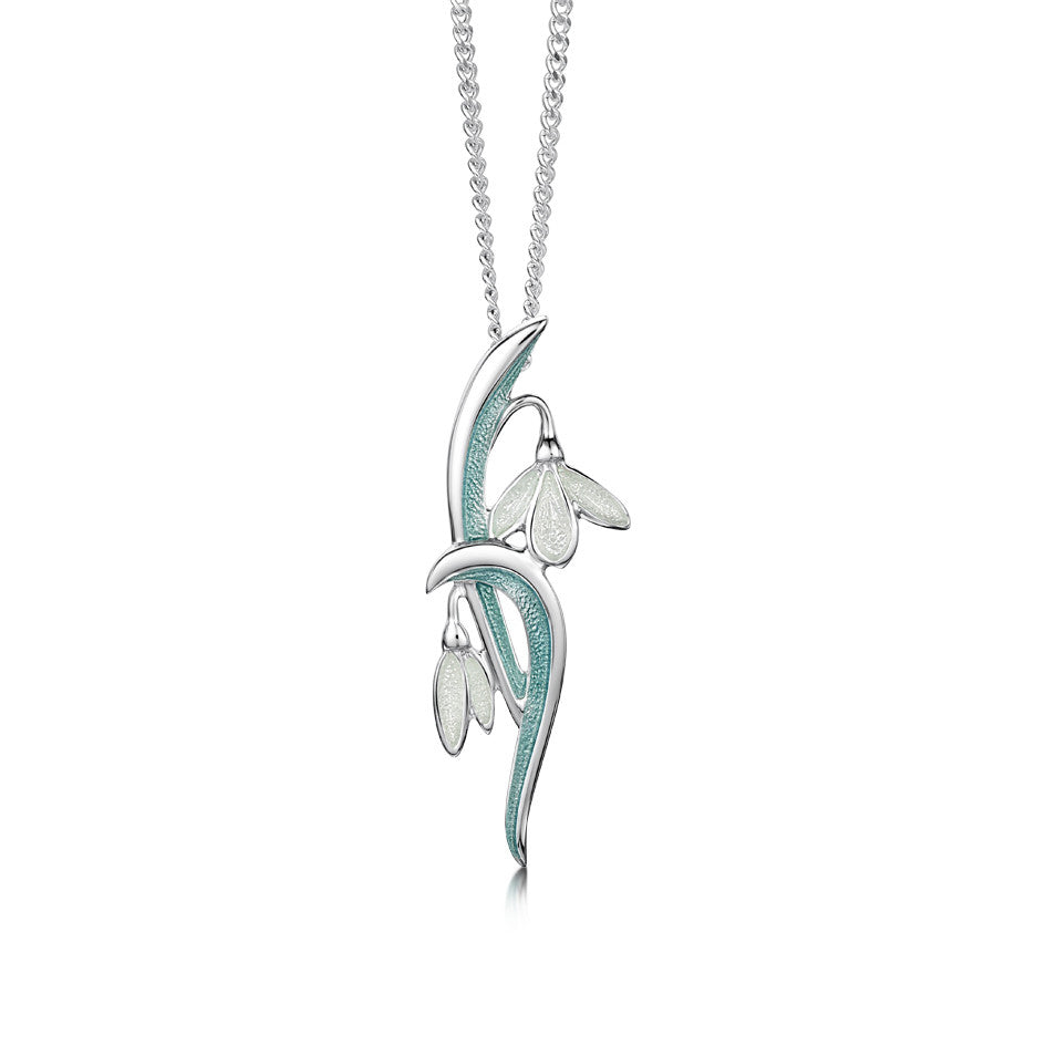 Snowdrop - Sterling Silver Pendant
