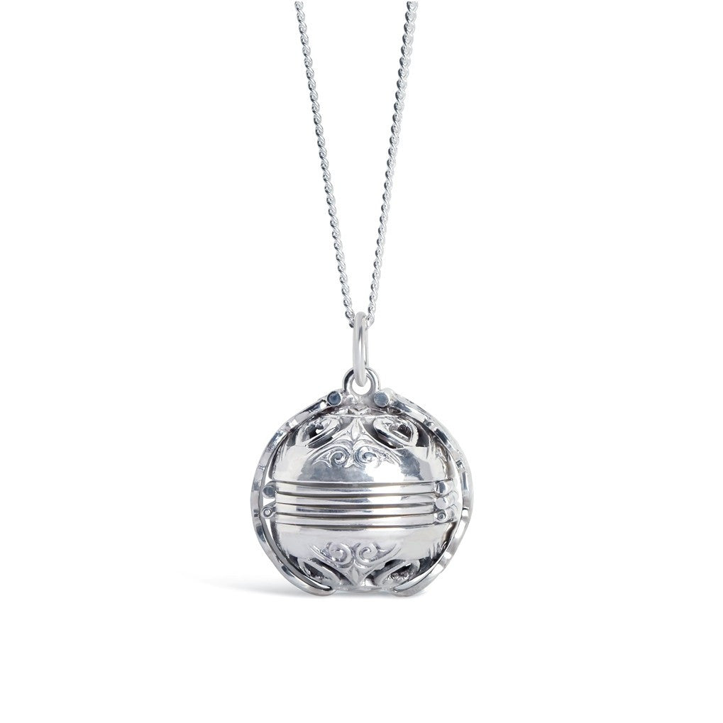 Sterling Silver Memory Keeper Sphere (Locket)