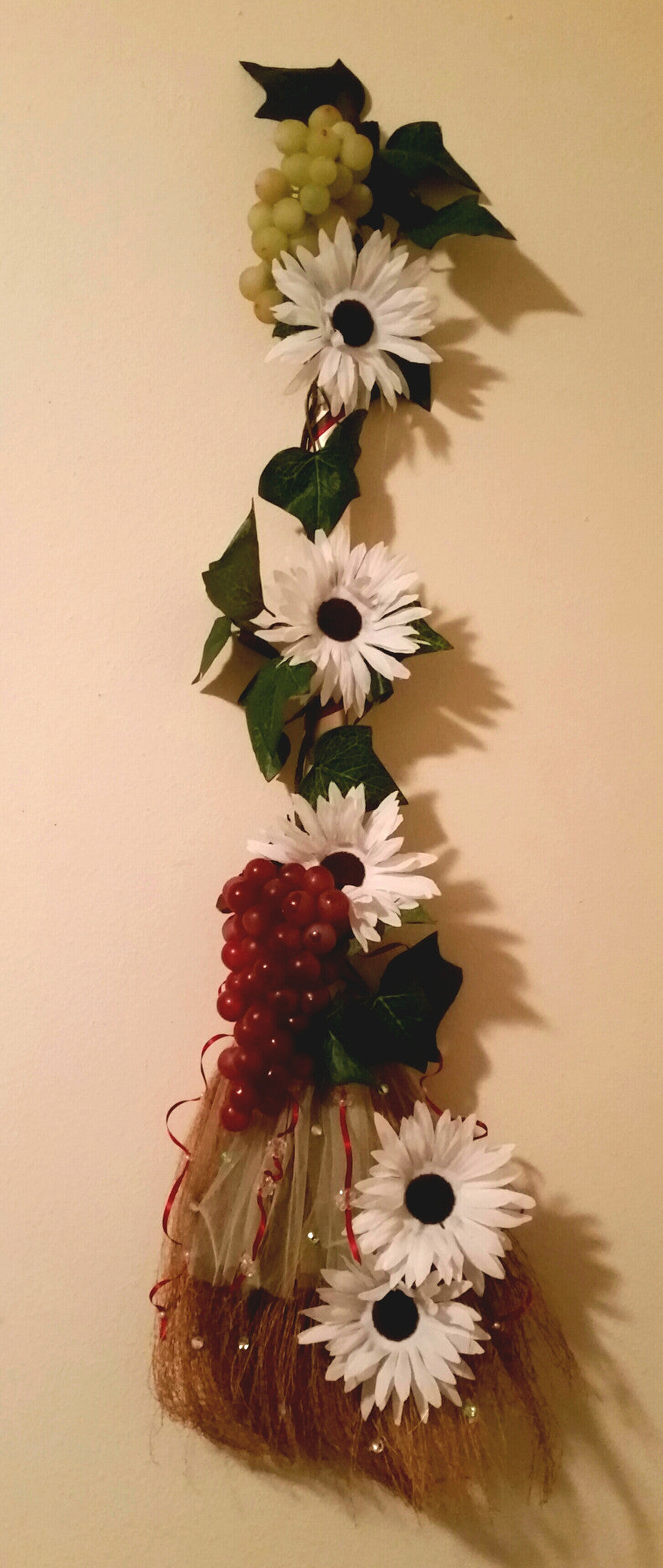 Grape Wall Decor - Little Bug Craftz