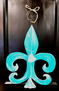 Fish Fleur-de-lis - Little Bug Craftz