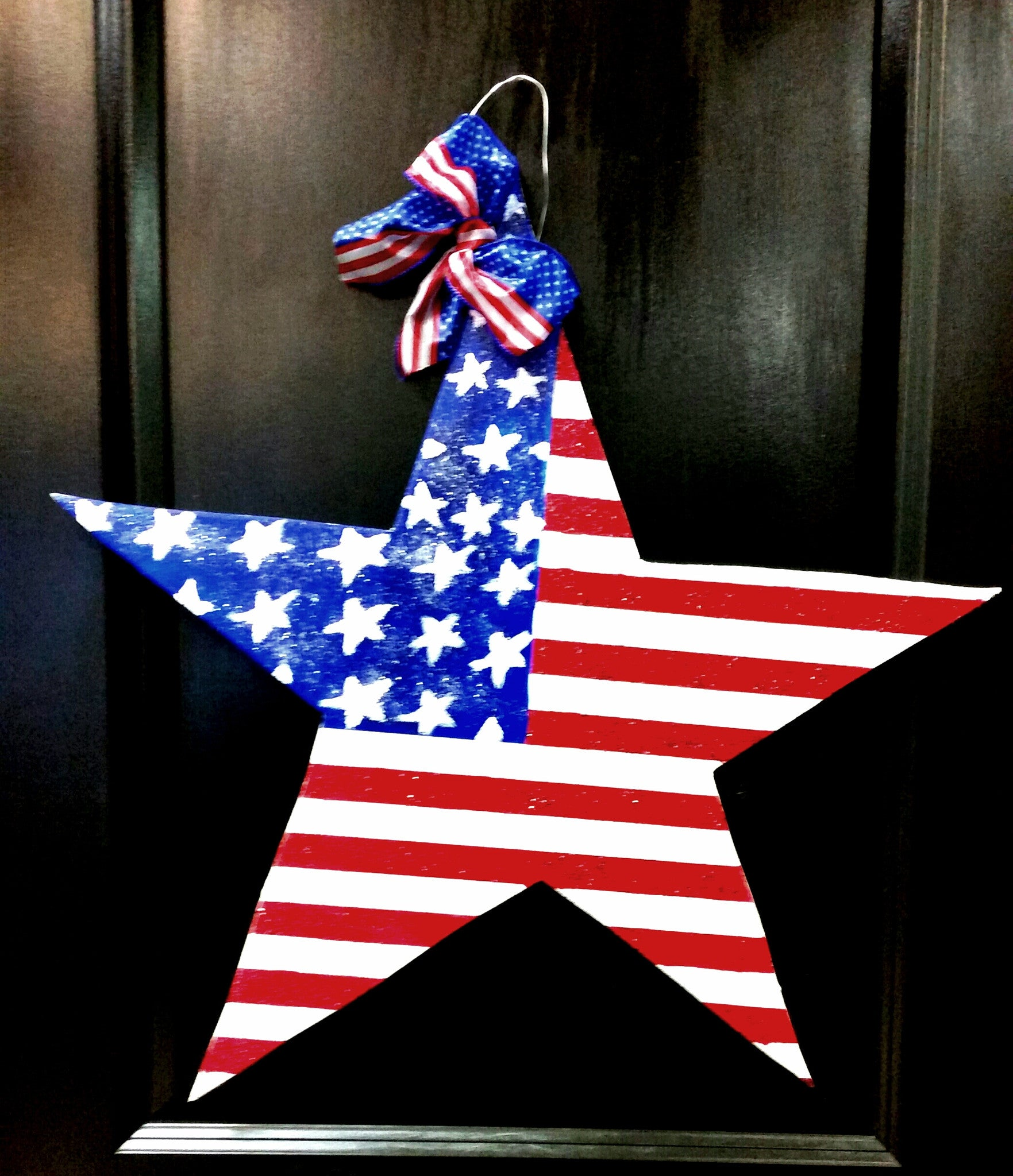 USA Star Door Hanger - Little Bug Craftz