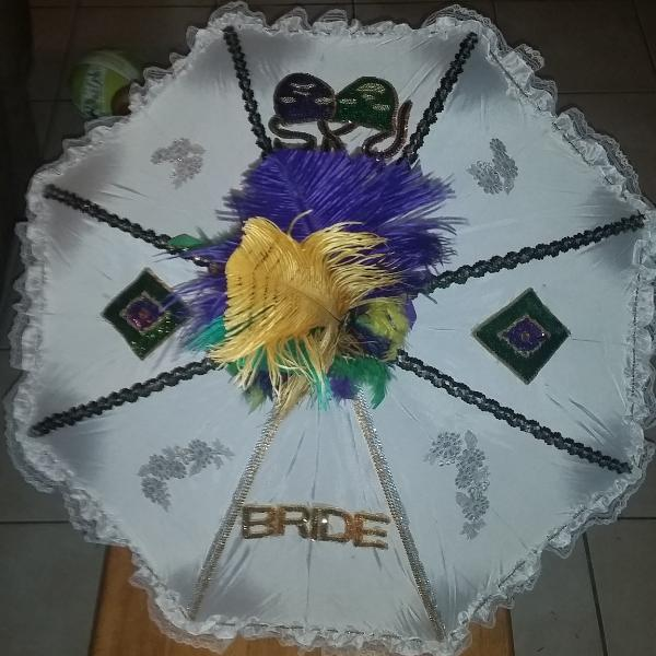Second-Line Umbrella 10 inches - Little Bug Craftz