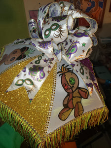 "10"" Voodoo Doll Second Line Umbrella - Little Bug Craftz"