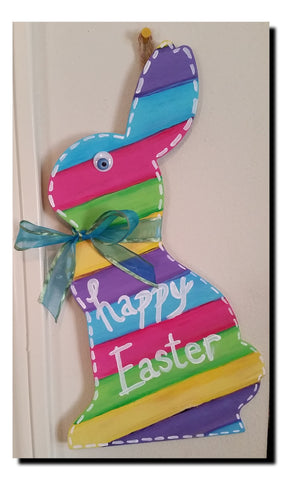 Happy Easter Wall Hanging - Little Bug Craftz