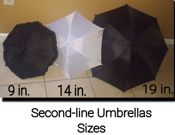 Second-line Umbrellas (Set of 2) - Little Bug Craftz