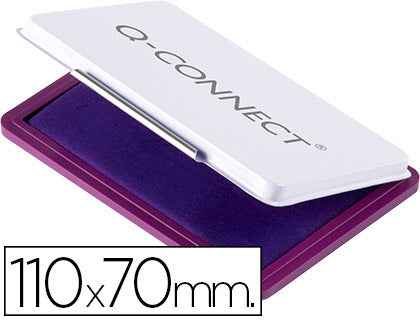 Tampon QConnect N.2 110X70 Mm Violeta