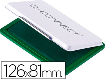 Tampon QConnect N.1 126X81 Mm Verde
