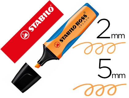 Rotulador Stabilo Boss Splash Grip 75/54 Naranja