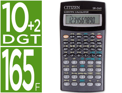 Calculadora CitizenSr-260