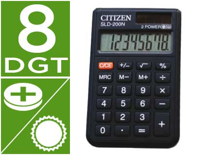 Calculadora Citizen  Sld-200N 8 Digitos