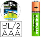 Pila Duracell Recargable Staycharged AAA 800 Mah